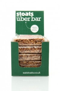 Stoats: giving away Uber bars with orders over £70 at IFE
