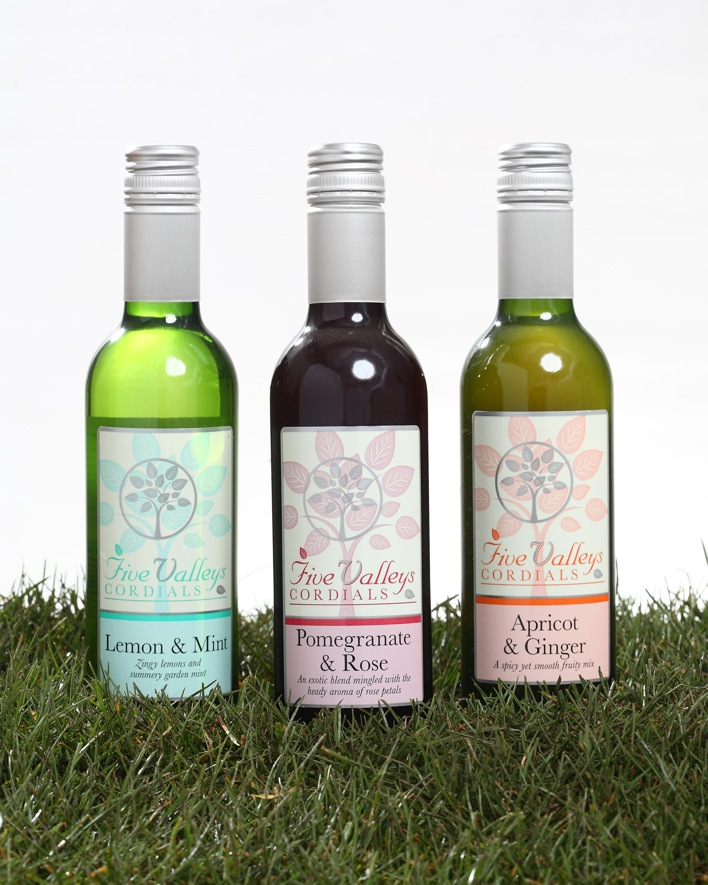 Five Valleys Cordials: Waitrose listing