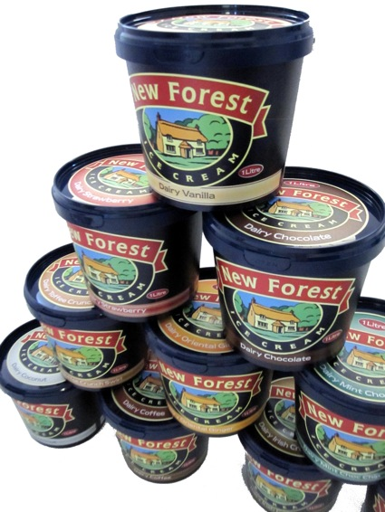New Forest Ice Cream: available nationally
