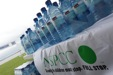 James Hall: donating water to cyclists raising money for the NSPCC
