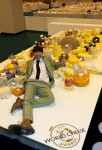 Alex James poses on the World's largest cheeseboard