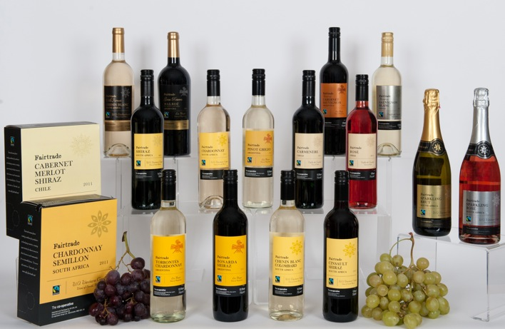 The Co-operative : new look Fairtrade wine range