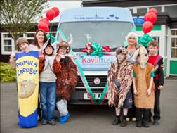 Kavli funds a wheelchair access mini bus