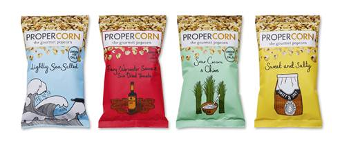 Propercorn: daring to be different