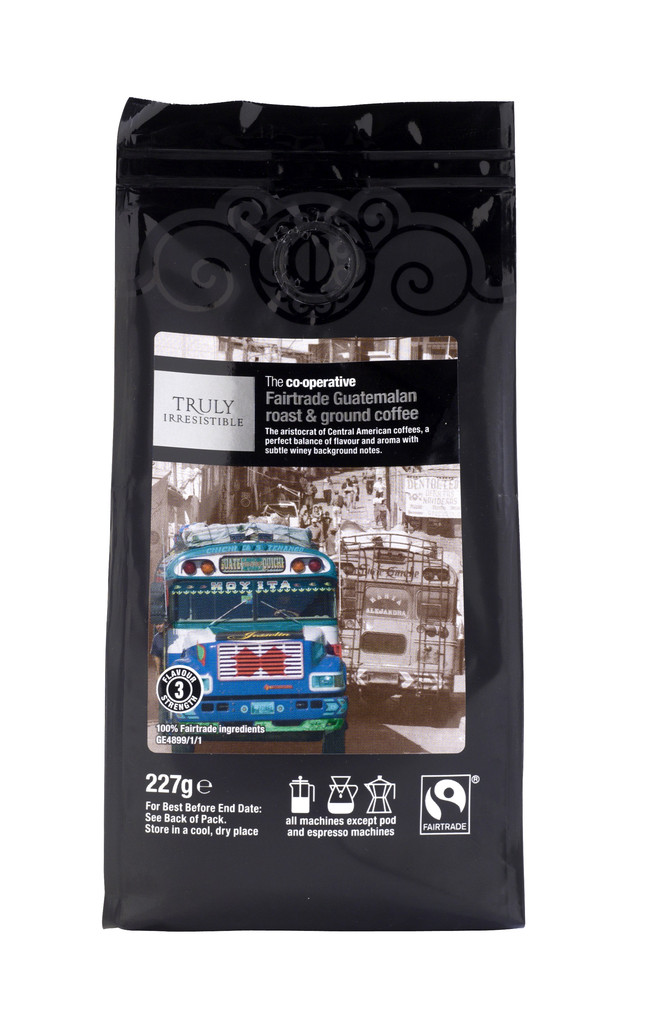 New Fairtrade coffee at the Co-operative