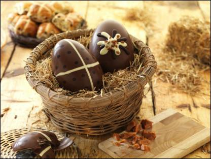 New premium Fairtrade Easter eggs