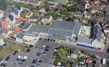 New 10-lane supermarket in Stalbridge, Dorset