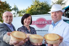 Family firm Gelder's: (L to r) Tony Gelder, sister Hillary Monk and Wayne Monk