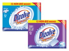Dizolve: sheet-based detergent