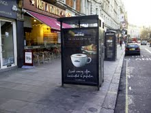 New Caffè Nero outdoor campaign
