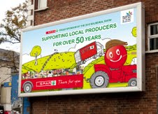Spar: supporting local producers