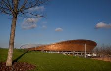 Velodrome uses sustainably sourced timbers