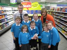 Spar Kincaidston: supporting school's cookery programme