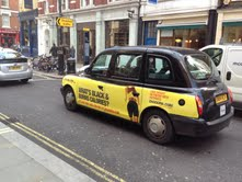 New London taxi campaign