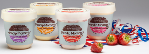 Limited edition ice cream inspired by Great British puddings