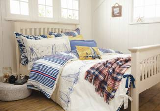 Joules: jumping into bed linens