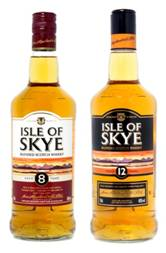New packaging for Isle of Skye Scotch Whisky