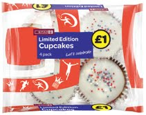 Limited edition cupcakes