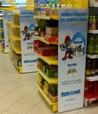 Retail marketing programmes, such as Albert's Smurfs campaign, can drive footfall and sales