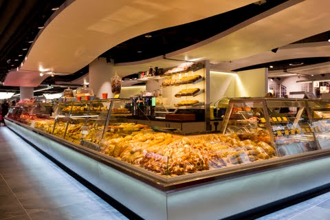 New Spar store at Salzburg station features a bistro