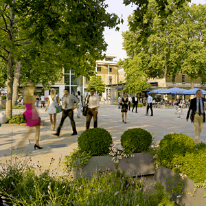 Duke of York Square: surge in visitor traffic
