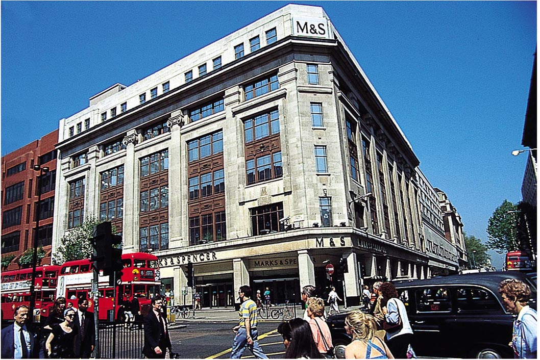 Marks & Spencer: profits fall