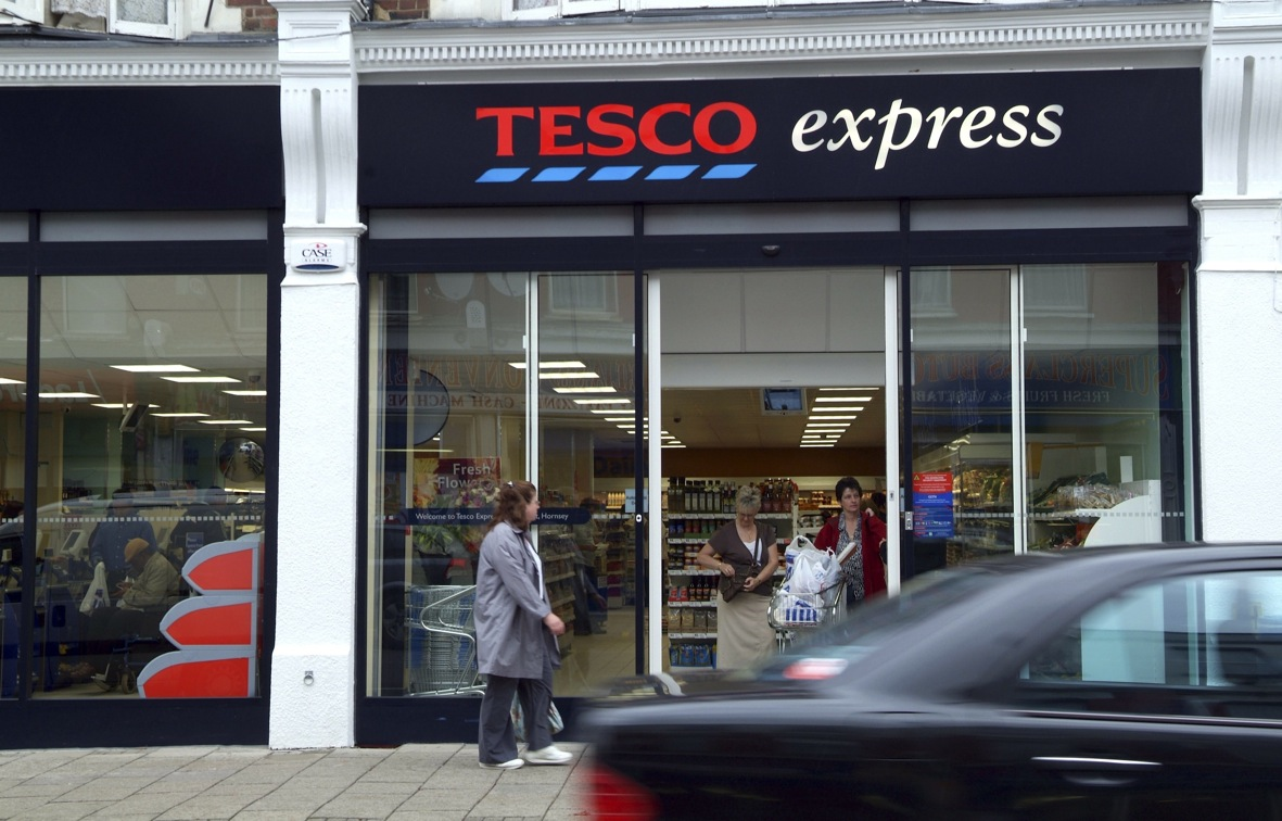 Tesco: focusing on smaller format, Express stores