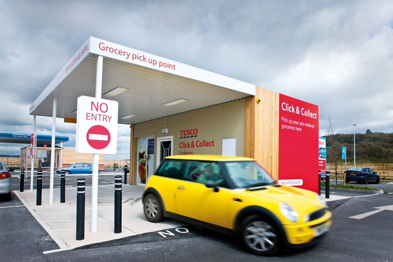 5% of food orders picked up by new drive-through click & collect service