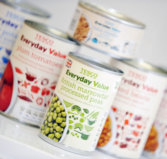 Tesco's  Everyday Value brand: gaining ground