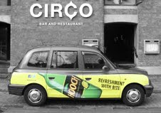Hooch: relaunch with London Taxi Advertising campaign