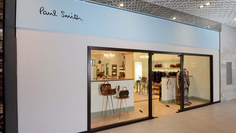 Paul Smith's new Singapore store