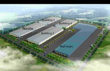 New logistics park in China