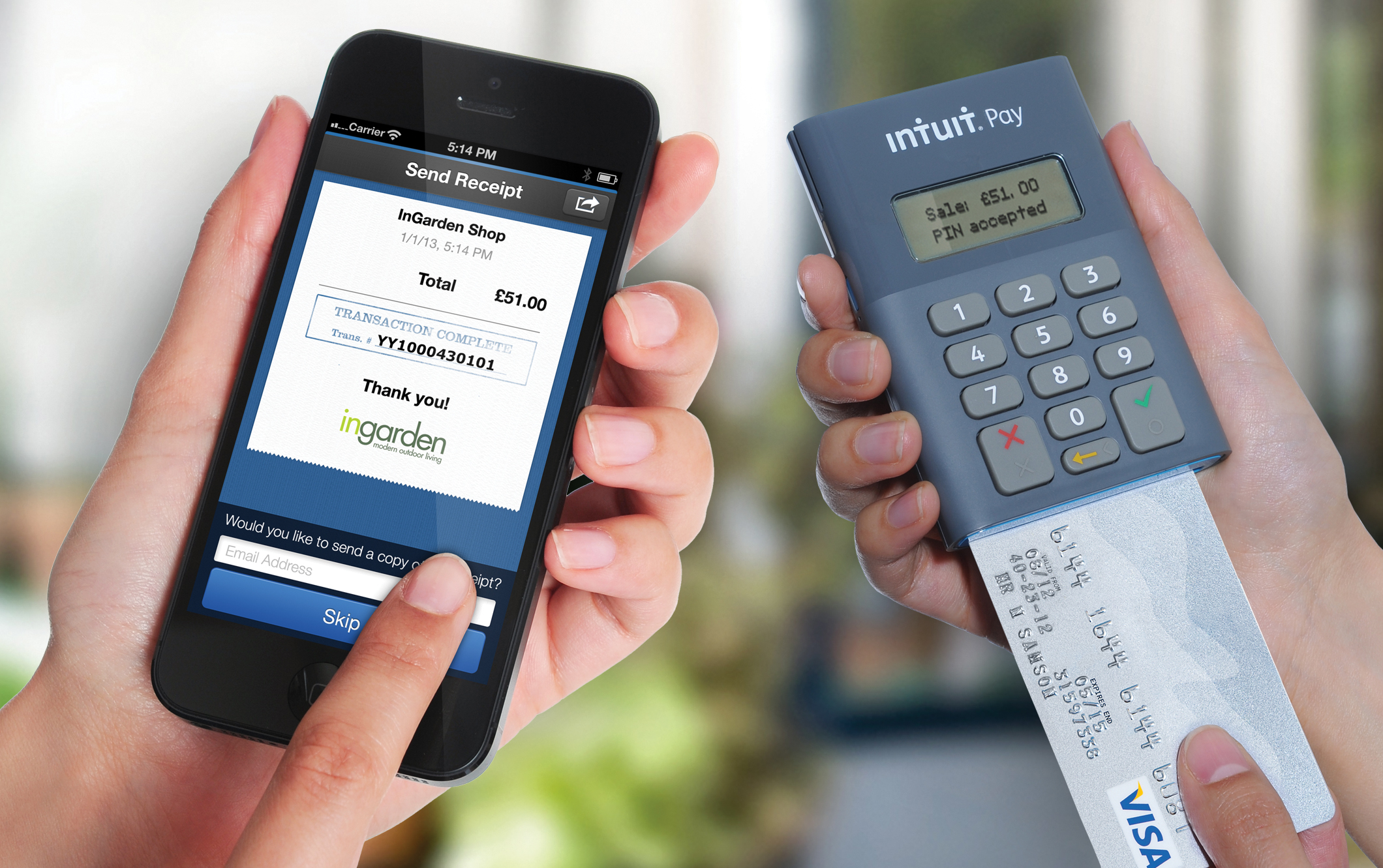Worldpay and intuit launch card acceptance services for small intuit pay in action reheart Images