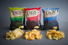 New TAGS crisps brand