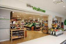 little Waitrose: hit with customers
