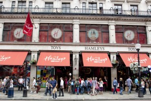 Hamleys: London flagship is a major tourist attraction and world's largest toy store