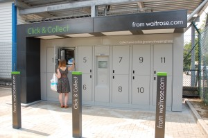 Clothing and footwear dominates click & collect currently but Waitrose is trialing temperature-controlled lockers at its head office prior to roll out