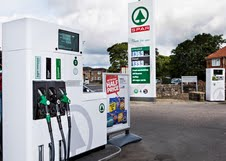 First Spar branded forecourt in UK