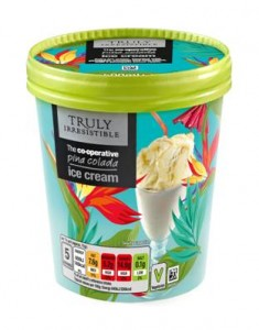 New Pina Colada flavour ice cream