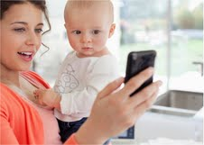 Mobile mums: smartphones and tables becoming indispensable